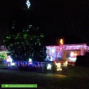 Christmas Light display at 72 Meadows Street, Merrylands