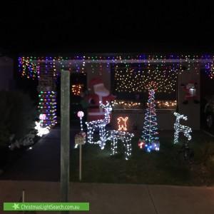Christmas Light display at 156 Everard Road, Mernda