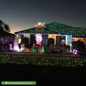 Christmas Light display at Mystery Road, Banksia Grove