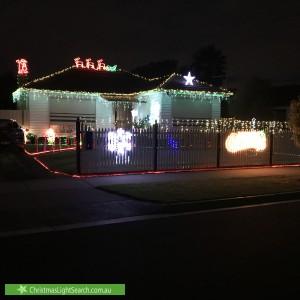 Christmas Light display at 12 Arunta Crescent, Clarinda
