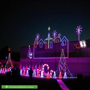Christmas Light display at Old Melbourne Road, Chirnside Park