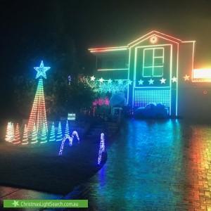 Christmas Light display at 36 Childs Circuit, Belrose