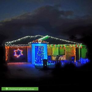 Christmas Light display at 26 Para Road, Evanston