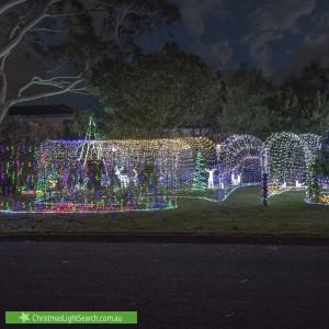 Christmas Light display at 5 Dorset Avenue, Northmead