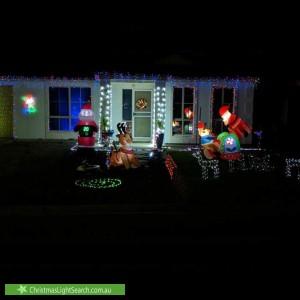 Christmas Light display at 28 McPherson Grove, Davoren Park