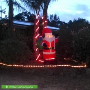 Christmas Light display at LOT 8 Jacob Road, Willyaroo