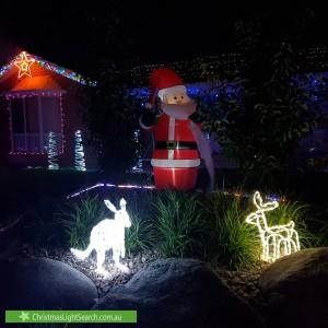 Christmas Light display at 12 Bathbank Crescent, Sheidow Park