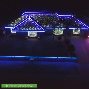 Christmas Light display at Hampden Street, South Kalgoorlie