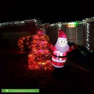 Christmas Light display at Collyndale Drive, Wangaratta