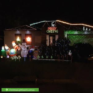 Christmas Light display at  Goodwood Way, Canning Vale