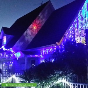 Christmas Light display at 1 Den Dulk Avenue, Altona