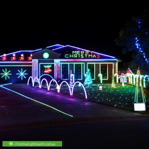 Christmas Light display at 37 Jeffery Circuit, Tumut