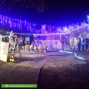 Christmas Light display at 108 Bolivar Road, Salisbury North