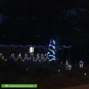 Christmas Light display at 16 Perry Drive, Chapman