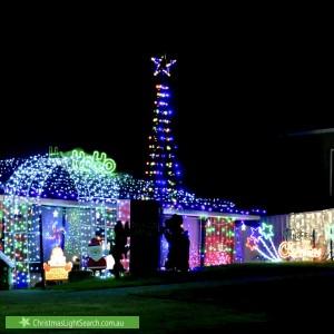 Christmas Light display at 12 Gardner Street, Rooty Hill
