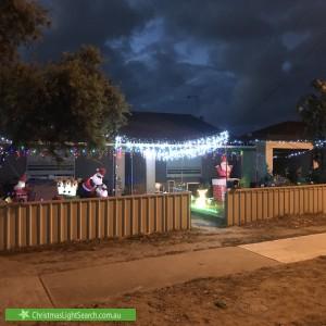 Christmas Light display at 20 Bartley Terrace, Semaphore Park