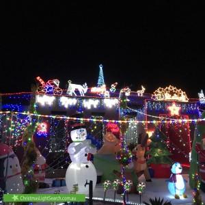 Christmas Light display at 71 Langbourne Drive, Narre Warren South