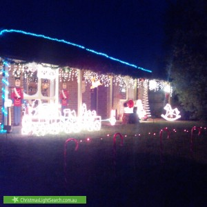Christmas Light display at Fleetwood Drive, Narre Warren