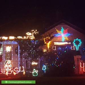 Christmas Light display at 179 Francis Street, Yarraville