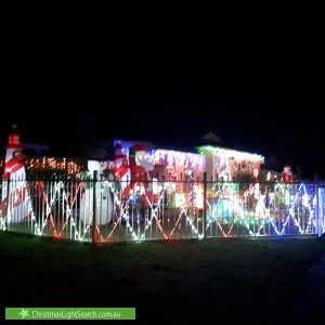 Christmas Light display at 13 Raleigh Drive, Narre Warren South