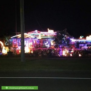 Christmas Light display at 35 Honour Avenue, Wyndham Vale