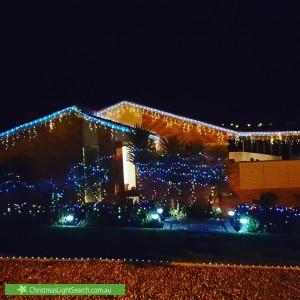 Christmas Light display at  Freda Gibson Circuit, Theodore
