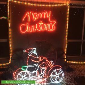Christmas Light display at 73 Kingscote Crescent, Bonython