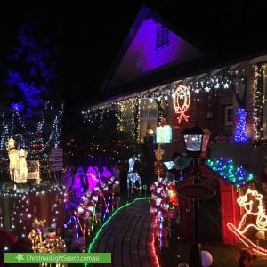 Christmas Light display at 29 Shaftsbury Street, Coburg