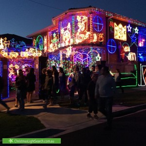 Christmas Light display at 118 The Boulevard, Thomastown