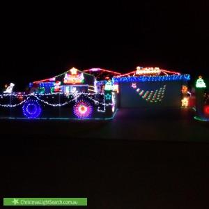 Christmas Light display at 31 Shallcross Street, Yangebup