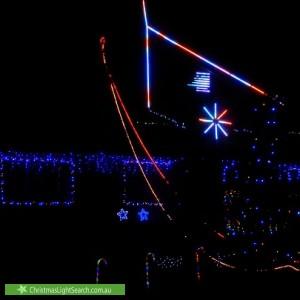 Christmas Light display at 126 Shakespeare Crescent, Fraser