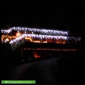 Christmas Light display at 7 Burston Road, Boronia