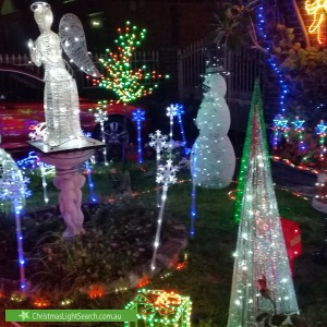 Christmas Light display at  Knowles Avenue, Matraville