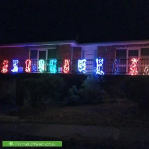 Christmas Light display at 177 Plenty River Drive, Greensborough