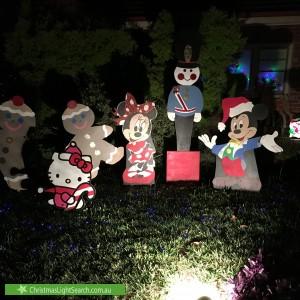 Christmas Light display at 111 Warrandyte Road, Ringwood North