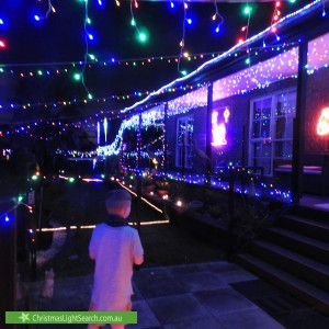 Christmas Light display at The Concourse, Frankston South