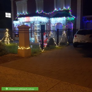 Christmas Light display at 299 Mawson Lakes Boulevard, Mawson Lakes