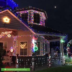 Christmas Light display at 10 Belvoir Gardens, Derrimut