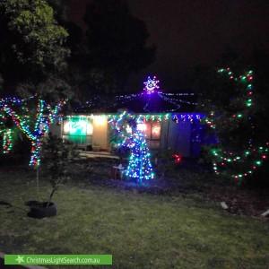 Christmas Light display at 12 Hughes Avenue, Saint Agnes