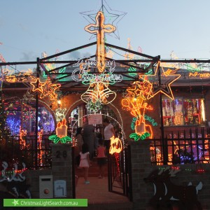 Christmas Light display at 28 Derby Street, Merrylands