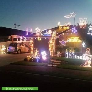 Christmas Light display at Kalyvas Drive, Munno Para West