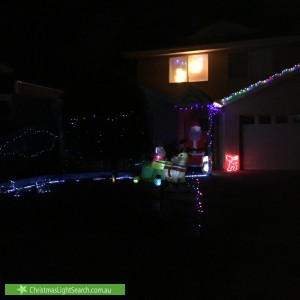 Christmas Light display at 47 May Avenue, Altona Meadows