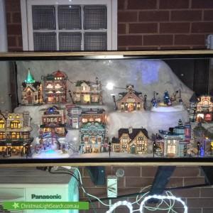 Christmas Light display at 12 Neasham Drive, Dandenong North