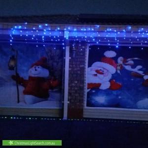 Christmas Light display at 2 Claremont Street, Morphett Vale