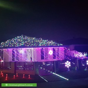 Christmas Light display at 46 Lenihan Corner, Wattle Grove