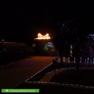 Christmas Light display at 1 Dunbar Avenue, Morphettville