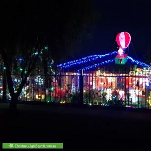 Christmas Light display at 36 Mareeba Crescent, Bayswater