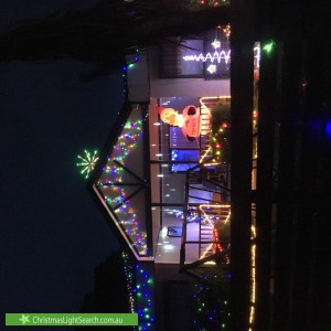Christmas Light display at 4 Home Street, Bayswater North