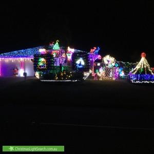 Christmas Light display at Oakwood Road, Warner