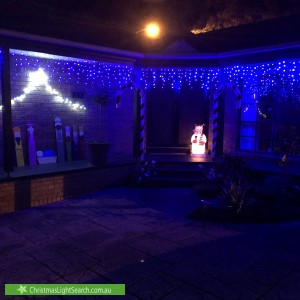 Christmas Light display at 59 Wallace Road, Wantirna South